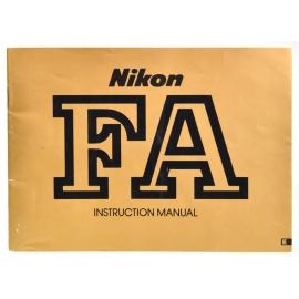 Nikon FA instructions (ENG)