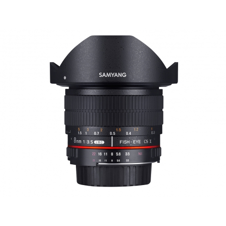 Samyang 8mm f/3.5 UMC Fish-eye CS II - Nikon