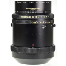Mamiya K/L 180mm f/4.5 L-A
