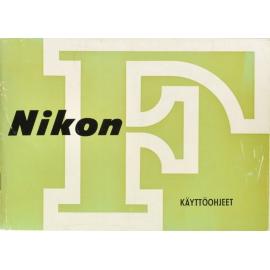 Nikon F käyttöohje
