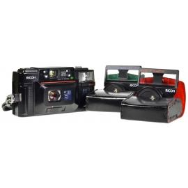 Ricoh FF-3 AF Super + lens add-ons