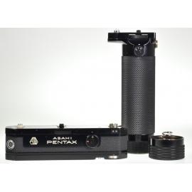 Pentax Spotmatic Motor Drive II + Battery Grip II