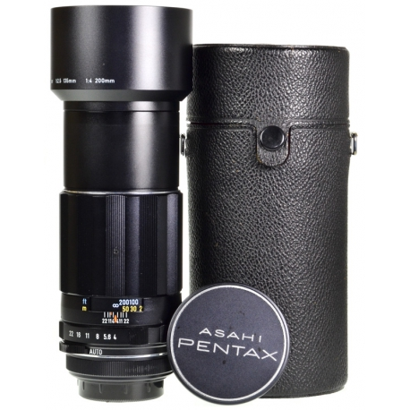 Pentax Super-Multi-Coated Takumar 200mm f/4 - M42