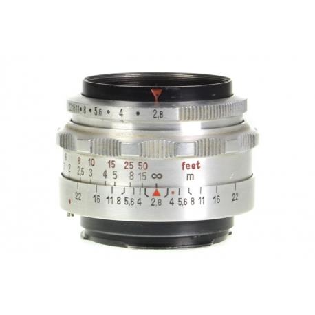 Carl Zeiss Jena Tessar 50mm f/2.8 - Exakta