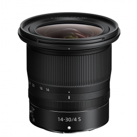 Nikon Nikkor Z 14-30mm f/4 S objektiivi