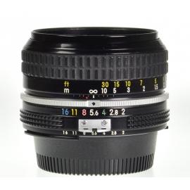 Nikon Nikkor 50mm f/2 Ai