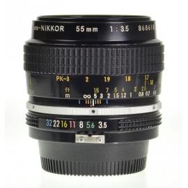 Nikon Micro-Nikkor 55mm f/3.5 Pre-Ai