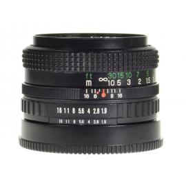 Fuji X-Fujinon 50mm f/1.9 FM