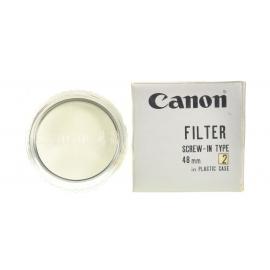 Canon 48mm UV 1X suodin