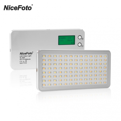 NiceFoto SL-120A LED light