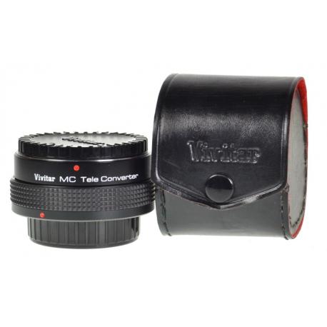 Vivitar MC Tele Converter 2x-4 - Canon FD