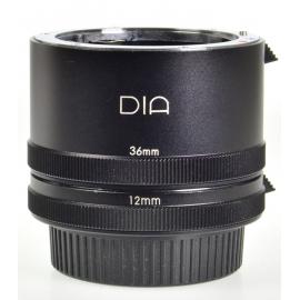 DIA 12mm & 36mm loittoputki - Pentax K