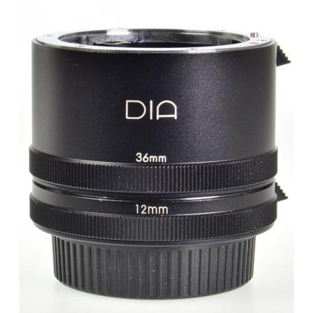 DIA 12mm & 36mm extension tubes - Pentax K