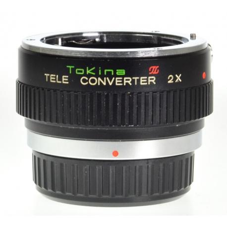 Tokina Tele Converter 2x - Pentax K