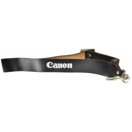 Canon leather strap