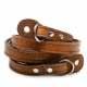 ONAbag Sevilla Antique cognac camera strap