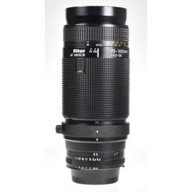 Nikon AF Nikkor 75-300mm f/4.5-5.6