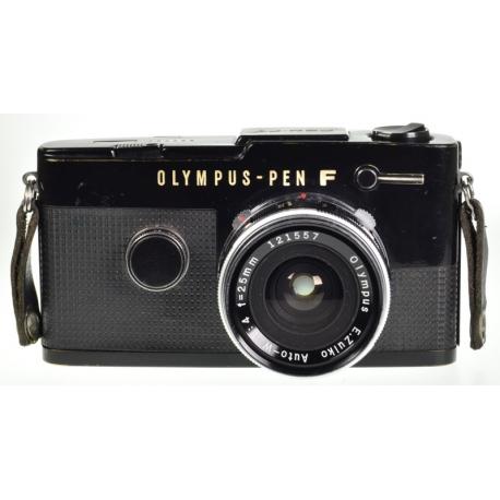 Olympus Pen F + E.Zuiko Auto-W 25mm f/4