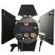 LS J-1000S säädettävä Bi-Color Fresnell LED valaisin