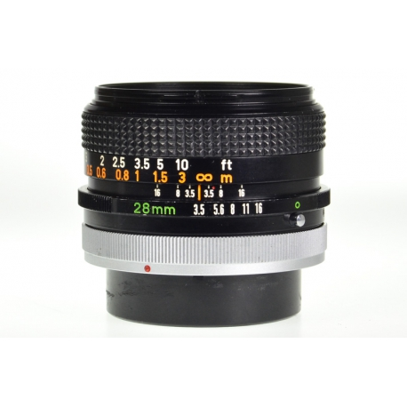 Canon FD 28mm f/3.5 S.C.