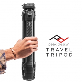 Peak Design Travel Tripod - Alumiininen matkajalusta