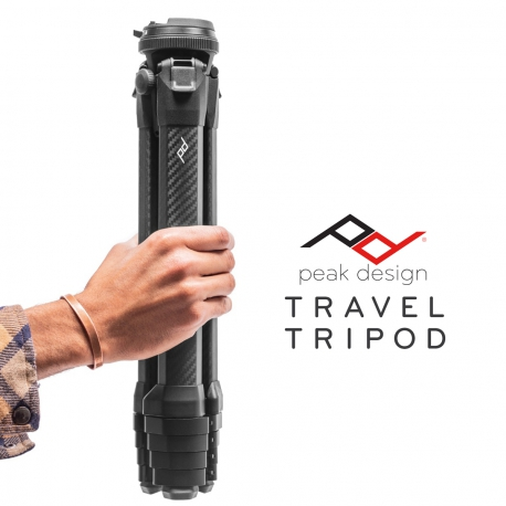Peak Design Travel Tripod - Hiilikuituinen matkajalusta