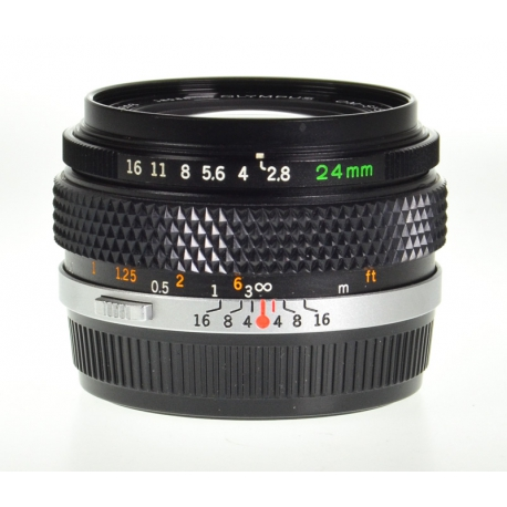 Olympus OM-System Zuiko Auto-W 24mm f/2.8