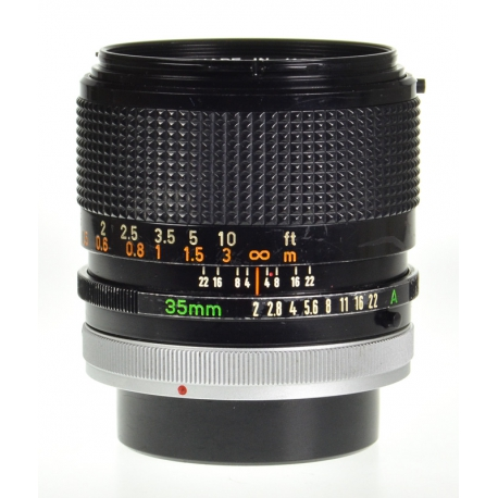 Canon FD 35mm f/2 S.S.C.
