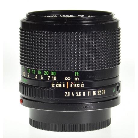 Canon FDn 100mm f/2.8