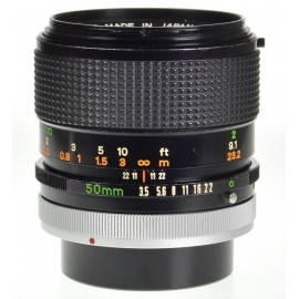 Canon FD Macro 50mm f/3.5 S.S.C.