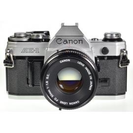 Canon AE-1 + FD 50mm f/1.8 S.C.