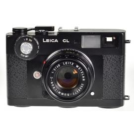 Leica CL + 40mm f/2 Summicron-C