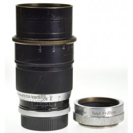 Leica Telyt 20cm f/4.5 + MOOSP Extension Ring