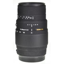 Sigma DG 70-300mm f/4-5.6 Macro - Canon EOS
