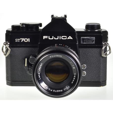 Fujica ST701 + Fujinon 55mm f/1.8 M42