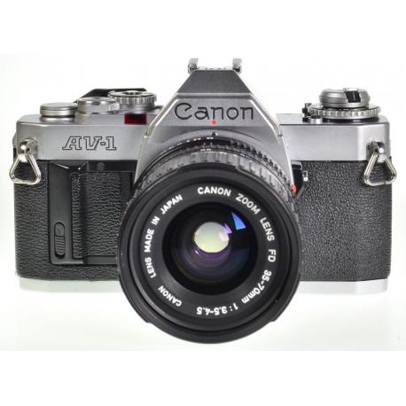 Canon AV-1 + FDn 35-70mm f3.5-4.5