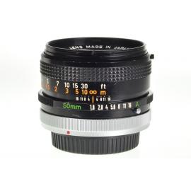 Canon FD 50mm f/1.8 S.C.