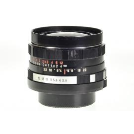 Pentacon Auto 29mm f/2.8 - M42