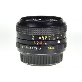 Ricoh XR Rikenon 50mm f/1.7 - Pentax K