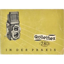 Rolleiflex 2.8D - käyttöohje (DE)