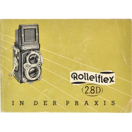 Rolleiflex 2.8D - instructions (DE)
