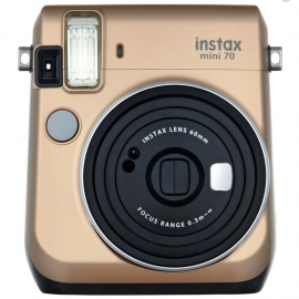 Fujifilm Instax Mini 70 Gold Instant Camera