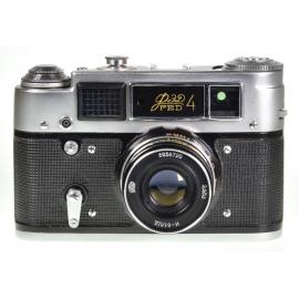 FED-4 +  53mm f/2.8 Industar-61 L/D