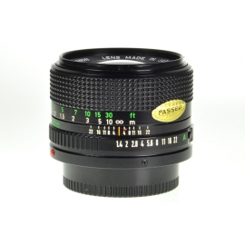 Canon FDn 50mm f/1.4