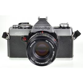 Minolta XG1 + MD Rokkor 50mm f/1.7