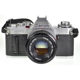 Canon AV-1 + FDn 50mm f/1.8