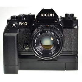 Ricoh KR-10 + Rikenon 50mm f/2 + XR Winder 1