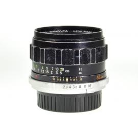 Minolta MC W.Rokkor-HG 35mm f/2.8