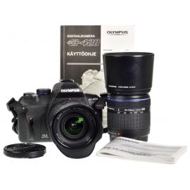 Olympus E-420 + Zuiko 14-42mm f/3.5-5.6 ED + Zuiko 40-150mm f/4-5.6 ED -kit