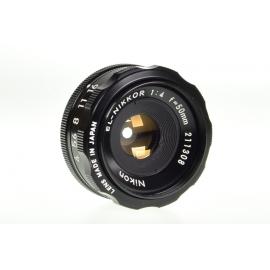 Nikon EL-Nikkor 50mm f/4 -suurennuskoneobjektiivi M39